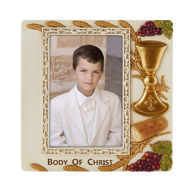 Body of Christ First Communion Photo Frame