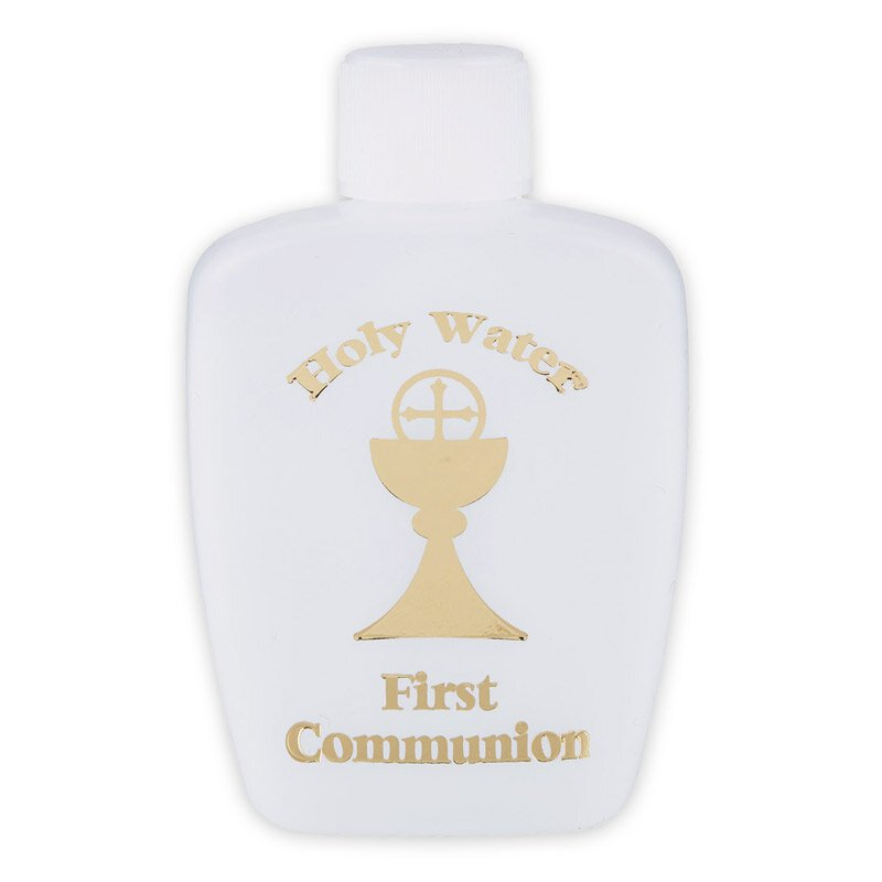 First Communion Holy Water Bottle - 24/pk
