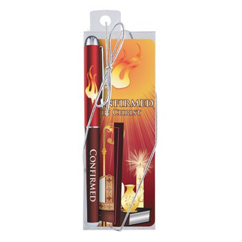 Confirmed in Christ Gift Pen with Bookmark - 12/pk