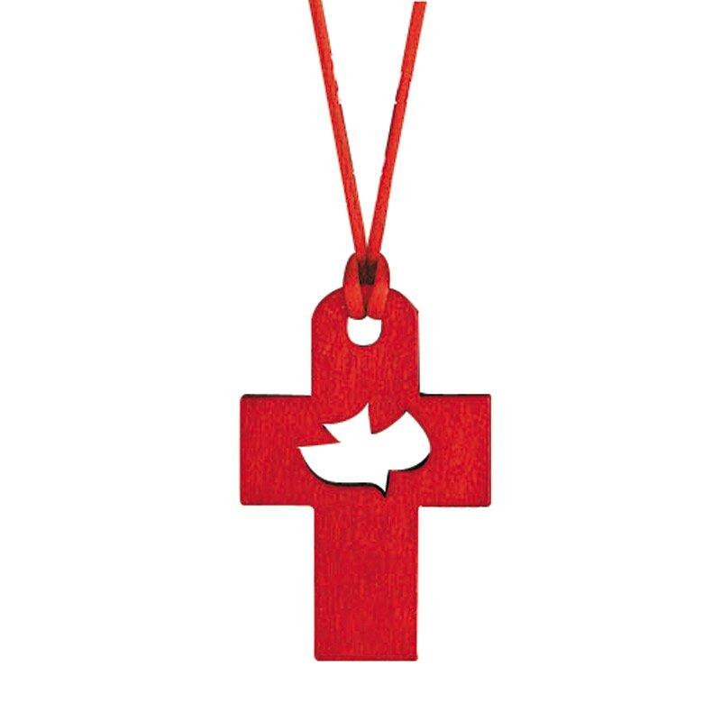 Come Holy Spirit Confirmation Cross Pendant - 12/pk