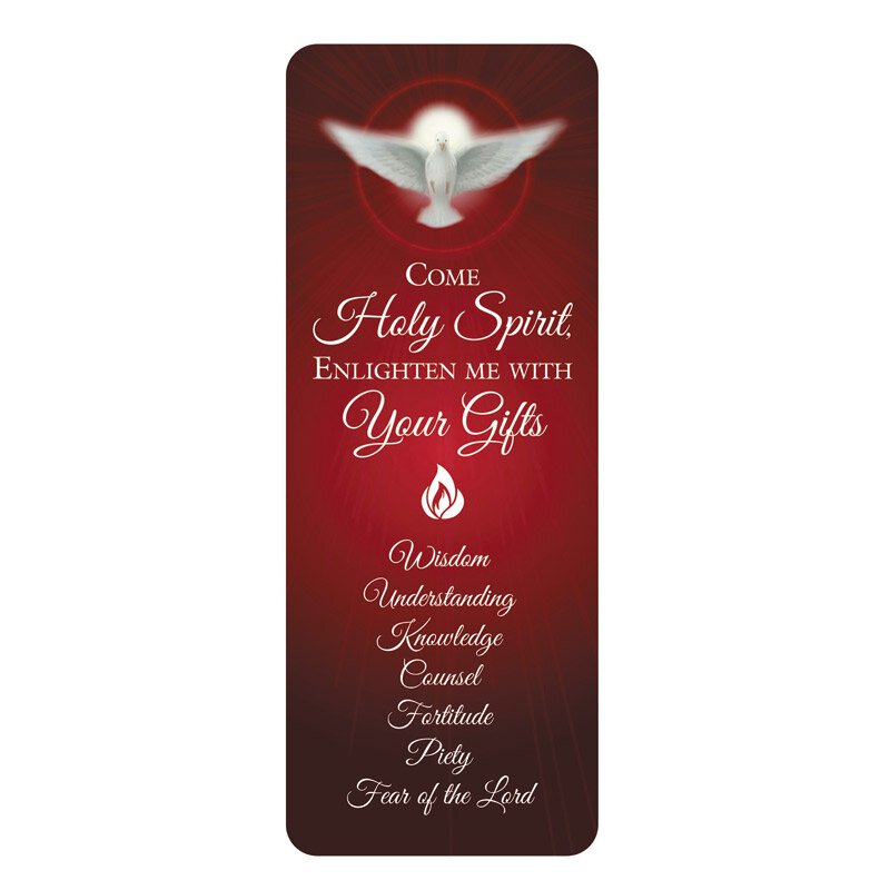 Come Holy Spirit Confirmation Jumbo Bookmark - 36/pk
