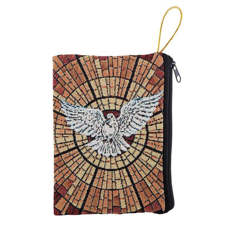 Holy Spirit Tapestry Rosary Bag - 6/pk