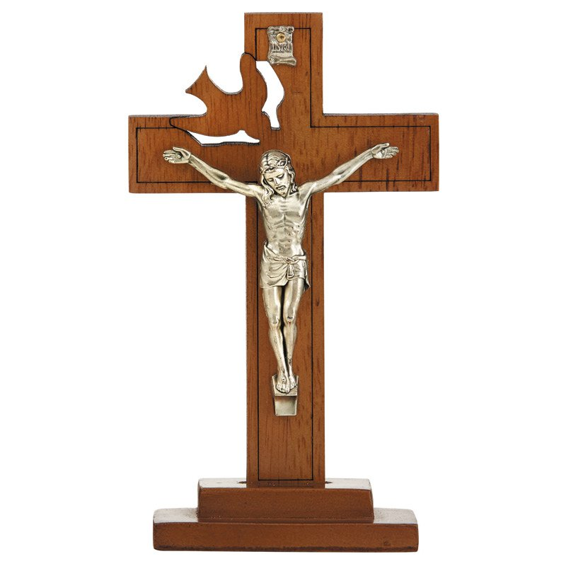 Holy Spirit Confirmation Standing Crucifix