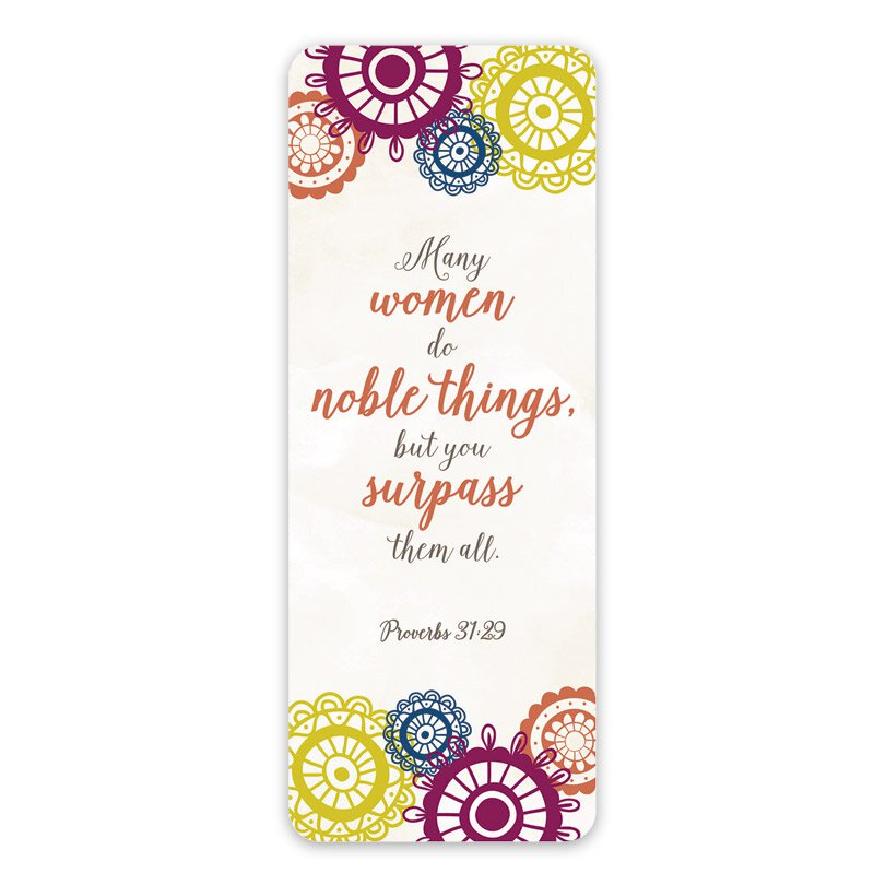 Noble Woman Jumbo Bookmark - 36/pk