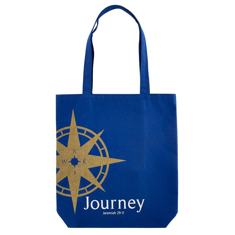 Journey Tote Bag with Inside Pocket - 12/pk