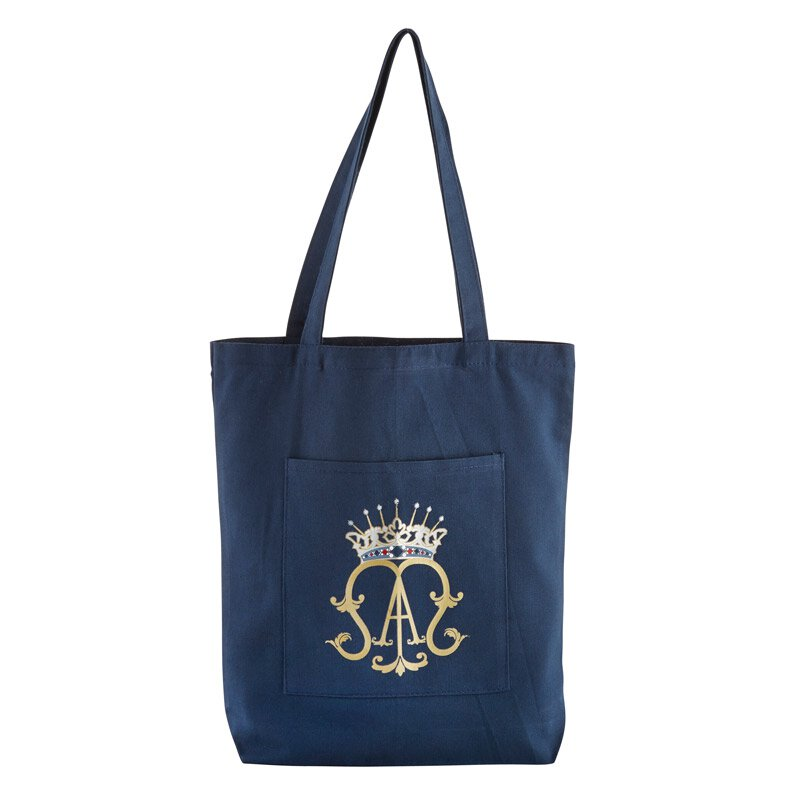 Ave Maria Tote Bag with Pocket - 12/pk
