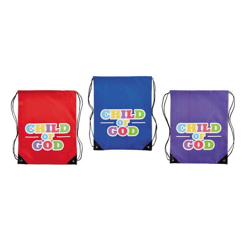Child of God Backpack Assortment (3 Asst) - 12/pk