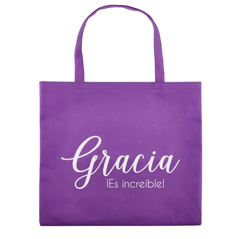Grace, It's Amazing! Tote Bag (Spanish) - 12/pk