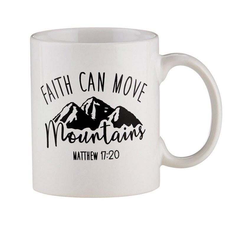 Faith Can Move Mountains Mug - 12/pk