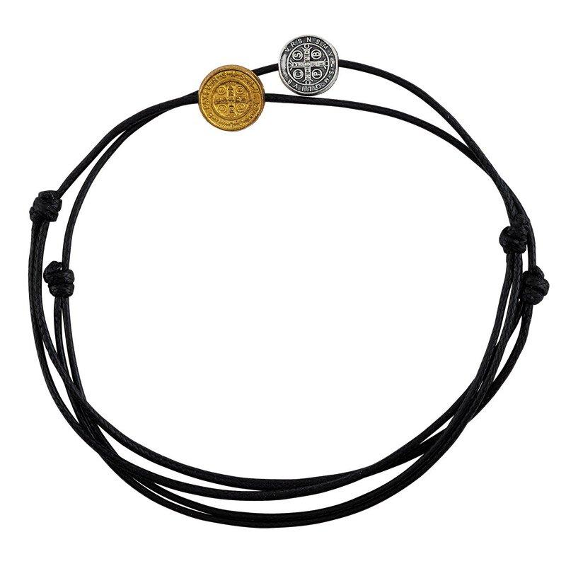 St. Benedict Medal Bracelet Assortment (2 Asst) - 24/pk