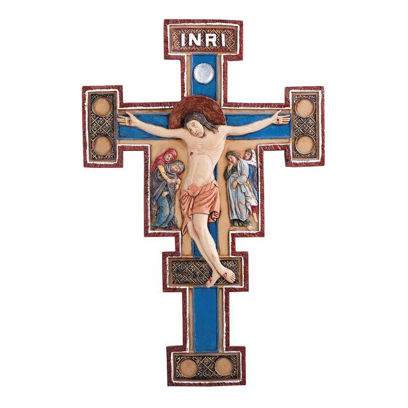 Byzantine Wall Crucifix