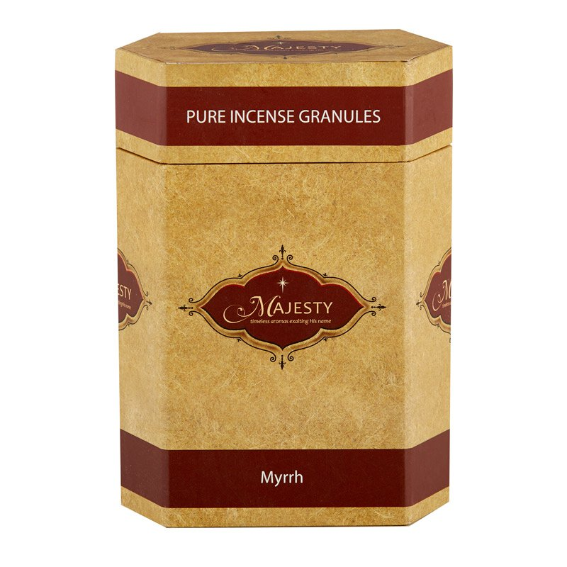 Majesty Incense 1 lb Container - Myrrh