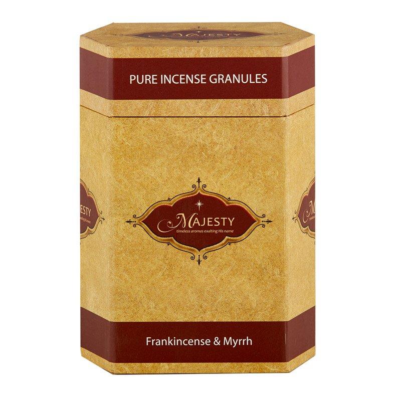 Majesty Incense 1 lb Container- Frankincense & Myrrh