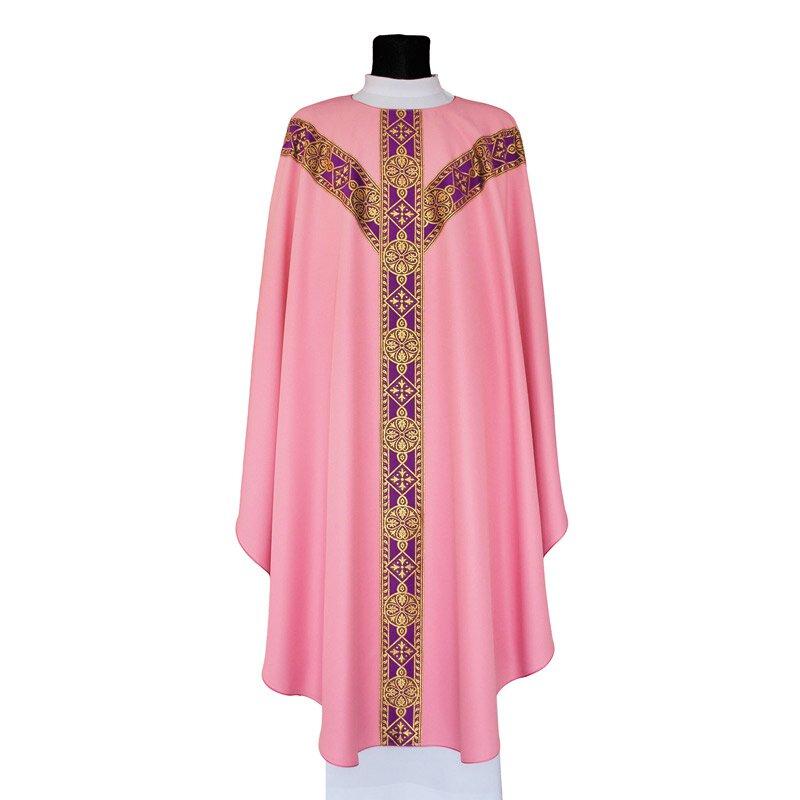 Rose Semi-Gothic-Style Chasuble
