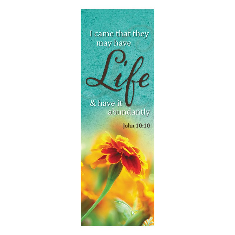 Lift Up Your Heart Series Banner - Life