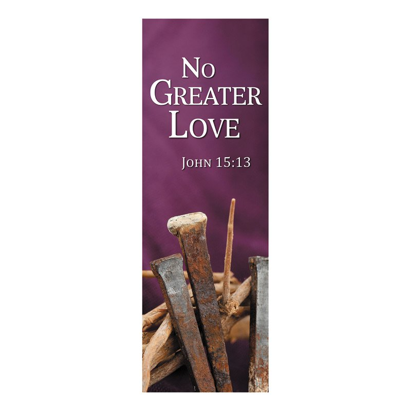 New Life Series Banner - No Greater Love