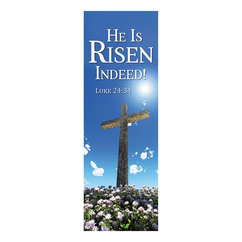 New Life Series Banner - He is Risen