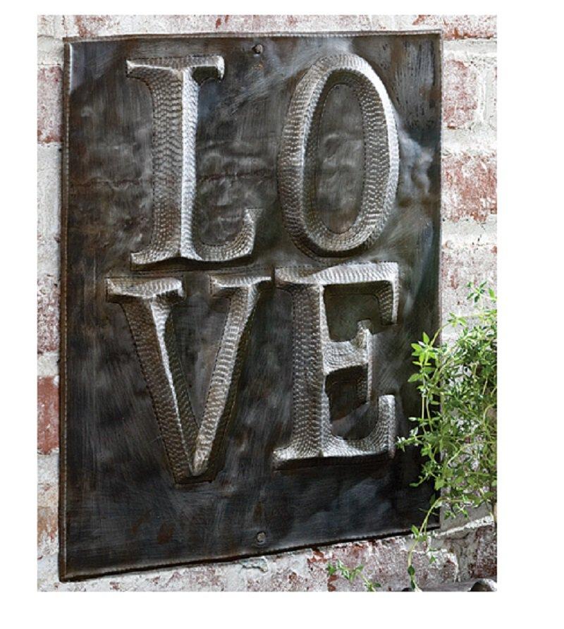 Primitive Love Plaque