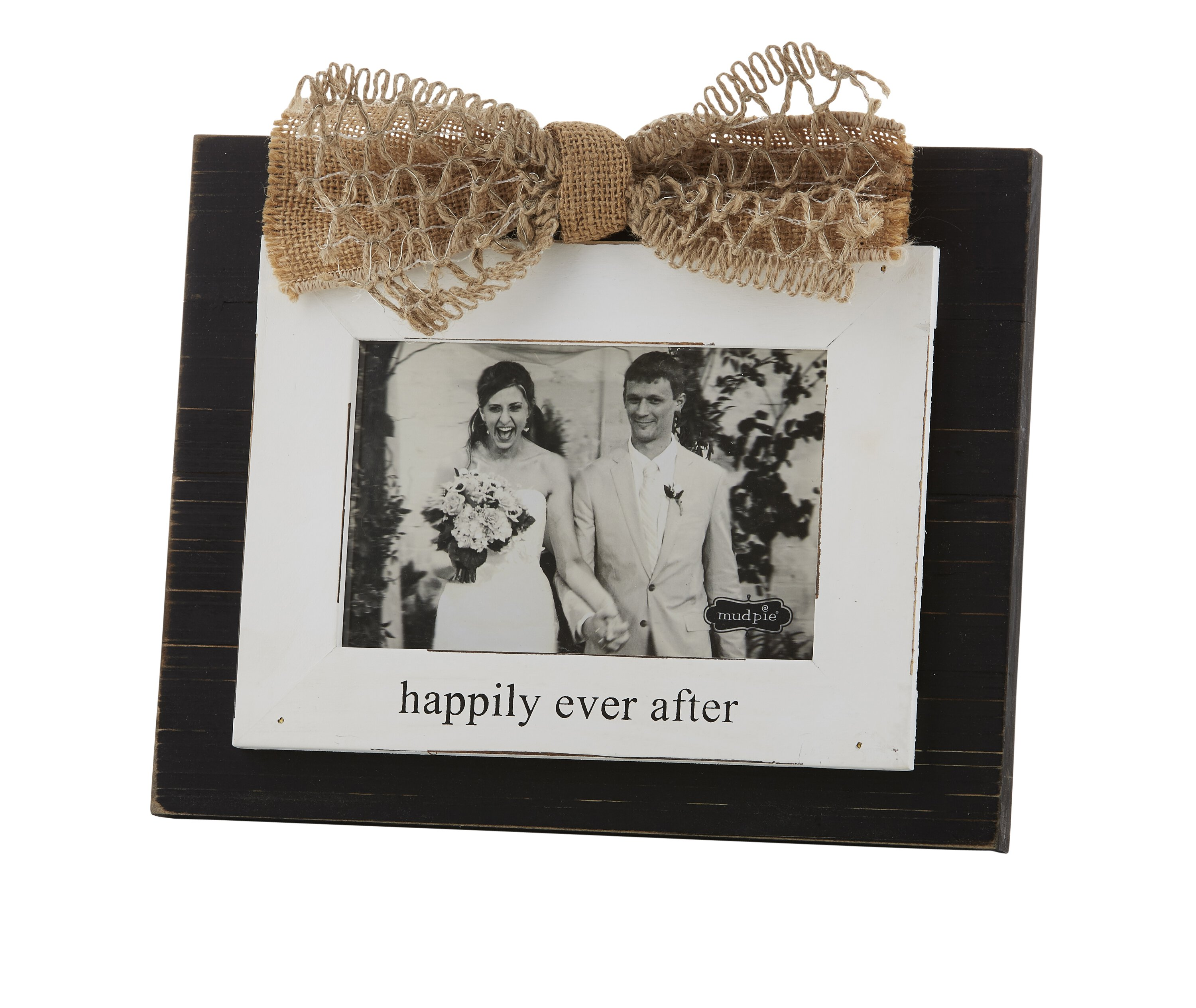Happily Ever After Wedding Photo Frame
