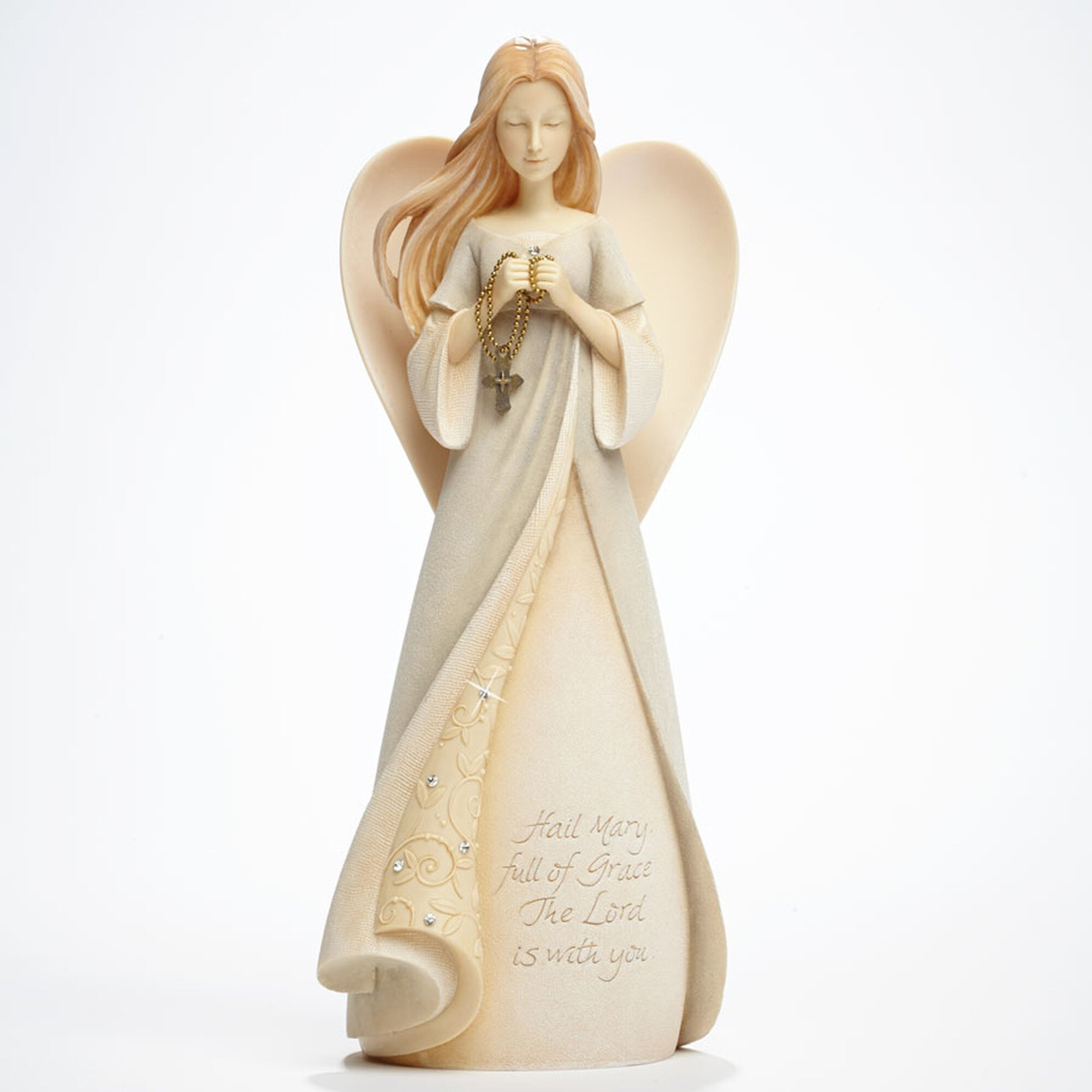 Hail Mary Angel Figurine