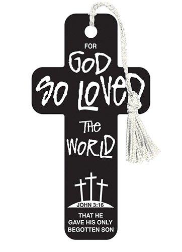 Cross Bookmarks John 3:16