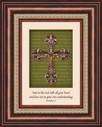 3D Cross- Proverbs 3:5