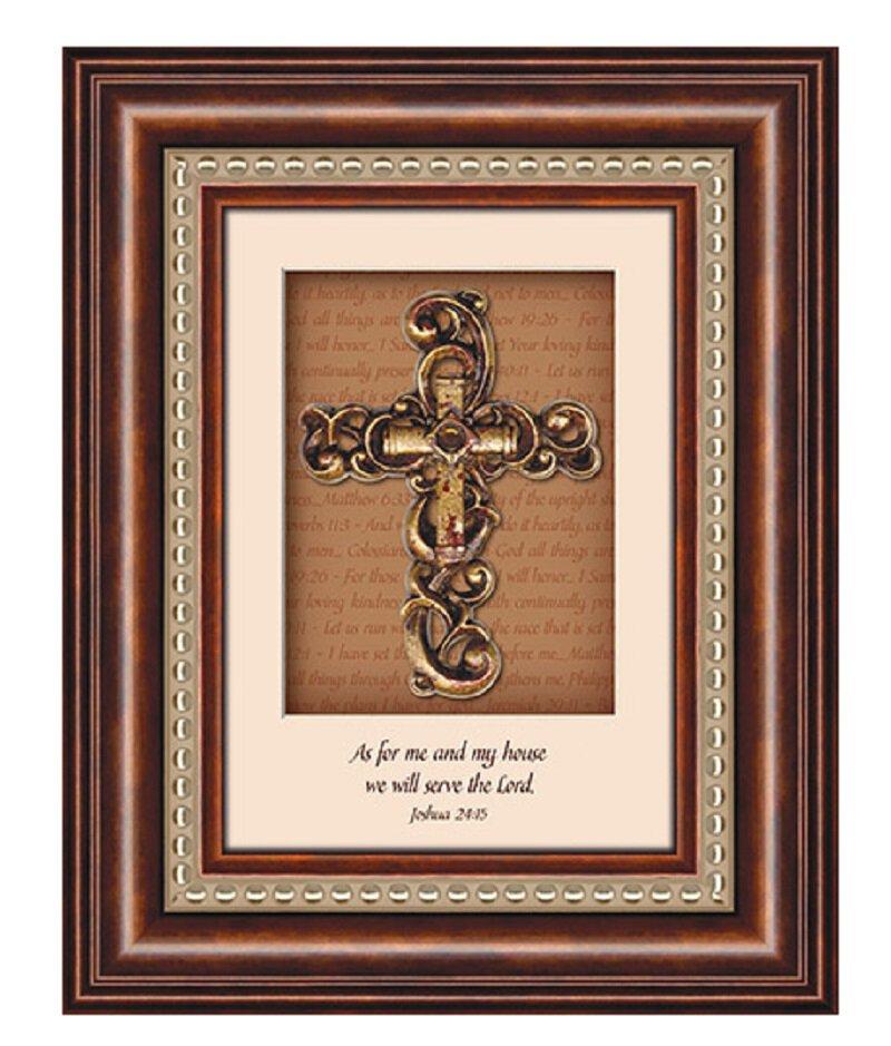 3D Cross Joshua 24: 15