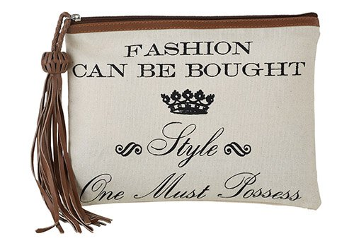 Fashion Can be Bought Clutch with Tassel