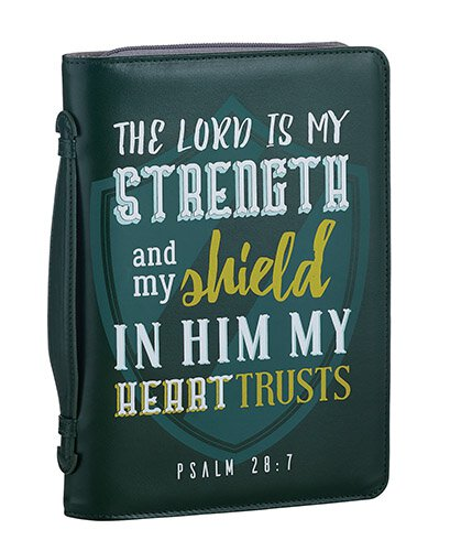 Strong And Courageous Bible Cover