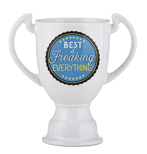 Trophy Mug - Best At Freaking Everything