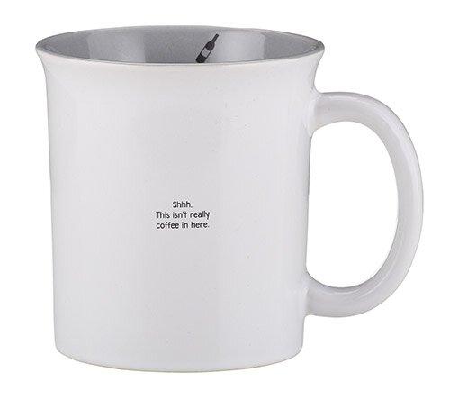 Small & Snarky Mug - Shhh