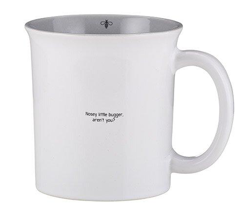 Small & Snarky Mug - Nosey Little Bugger