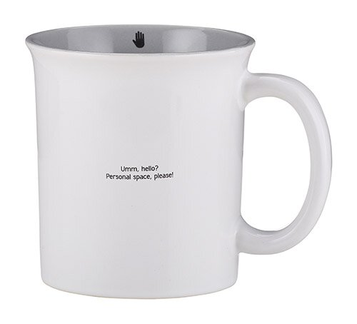 Small & Snarky Mug - Personal Space