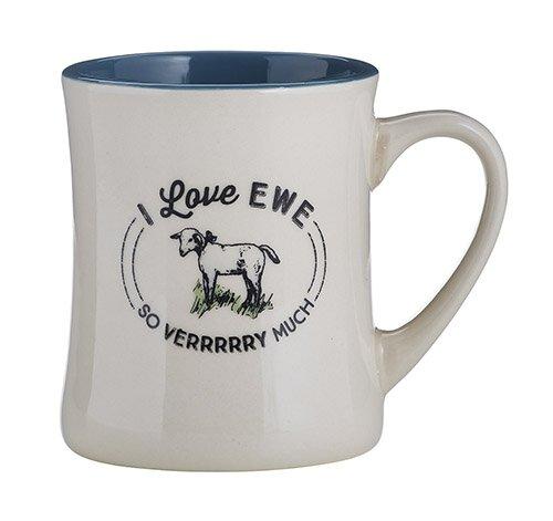 Creature Comforts Mug - I Love Ewe