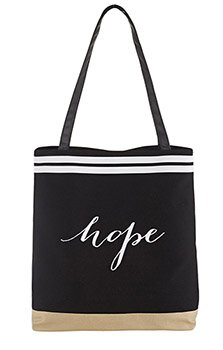 Tote-Hope Black And White