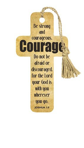 Cross Bookmarks Courage