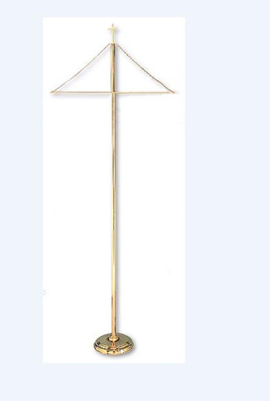 Brass Banner Stand