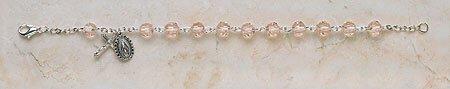 Pink Vienna Sterling Silver Bracelet