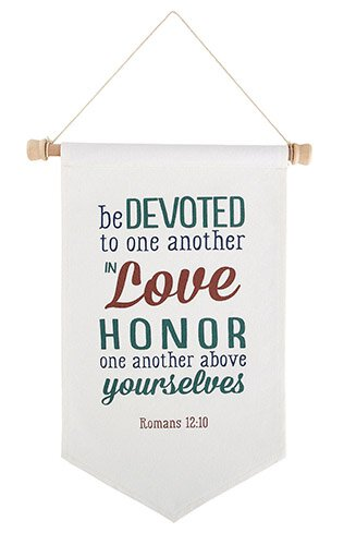 Be Devoted To One Another Banner