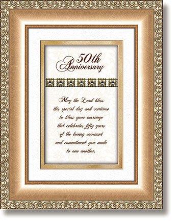50th Anniversary Christian Verse