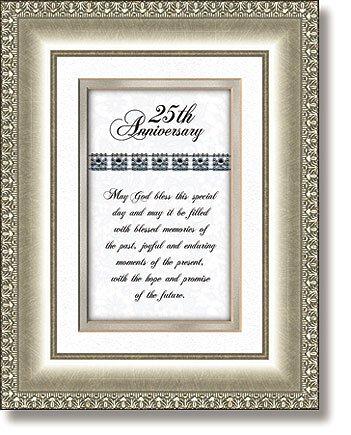 25th Anniversary Christian Verse