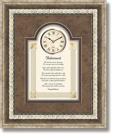 Retirement - Wall Clock