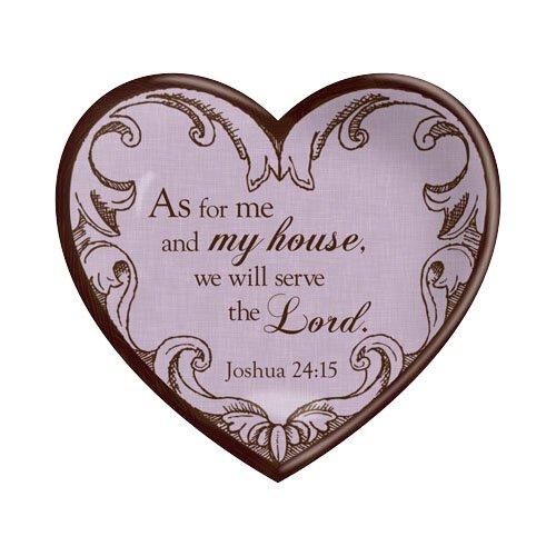 Ceramic Heart My House Joshua 24:15