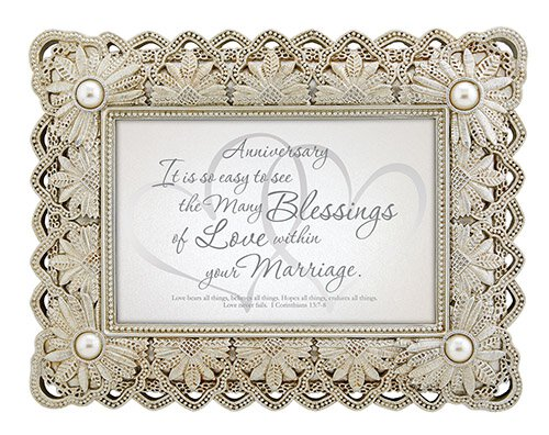 From This Day Forward - Anniversary-I Corinthians 13:7-8 - Framed Print