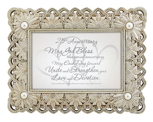 From This Day Forward - 25th Anniversary-Song Of Solomon 6:3 - Framed Print