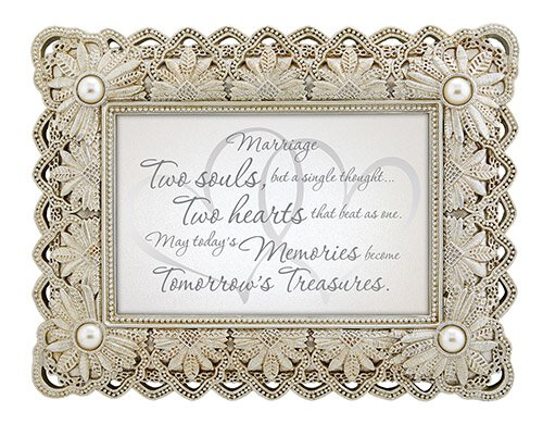 "Marriage - 9"" X 7"" Framed Tabletop"