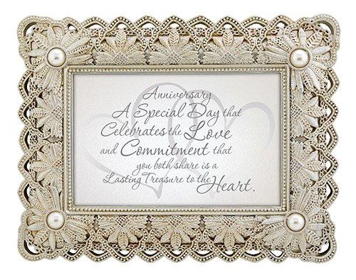 "Anniversary - 9"" X 7"" Framed Tabletop"