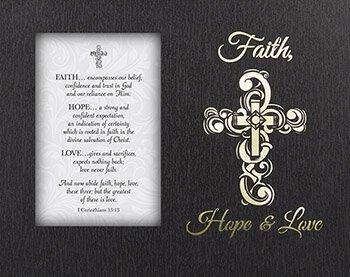 Glowing Treasures - Faith, Hope, Love, 1 Corinthians 13:13