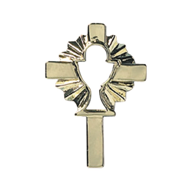 Cross with Chalice Lapel Pin - 25/pk