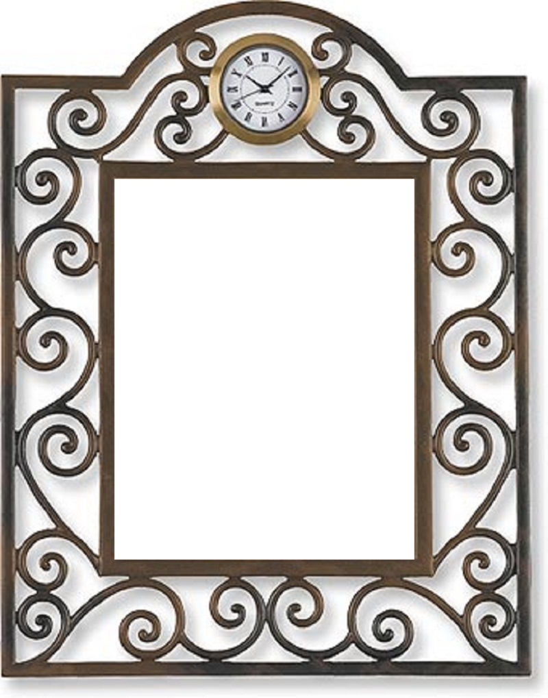 Clock Photo Frame